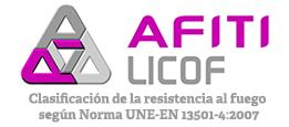 AFITI LICOF - Clasificación de la resistencia al fuego según Norma UNE-EN 13501-4:2007