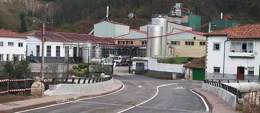 Oficinas y procesos industriales de Fábrica Andrós de la Serna