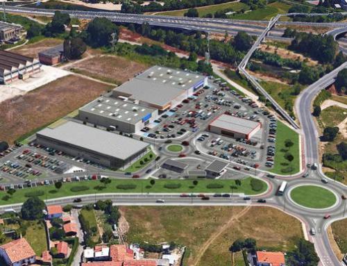 CENTRO COMERCIAL en Ganzo con Potencia inst. 173 kW